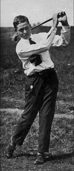 Bobby Jones (golfer) - Jones at age 14