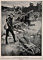 Boer War; Boer soldiers tending the injured British soldiers Wellcome V0015509ER.jpg