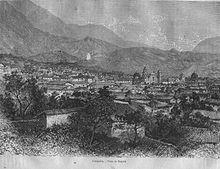 Bogotà nel 1887.