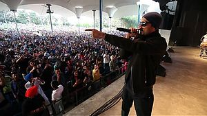 Bohemia (rapper) - Bohemia performing live at Canada's Wonderland in 2014