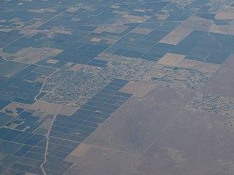 Bonadelle Ranchos-Madera Ranchos, California - Aerial view of Bonadelle Ranchos-Madera Ranchos