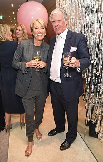 Boodles (company) - Famous Boodles client, Emma Thompson, at the Bond Street flagship store launch party in 2015.