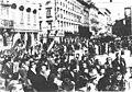 Borci 29. hercegovačke divizije na ulici u oslobođenom Trstu, maja 1945..jpg