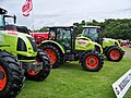 Border Union Agricultural Show 2009 - G Marshall (Tractors) Stand - geograph.org.uk - 1412863.jpg