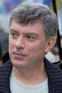 Boris Nemtsov 20th and 21st-century Russian scientist, statesman and liberal politician