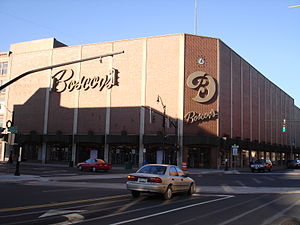 Boscov's in Downtown Binghamton, New York