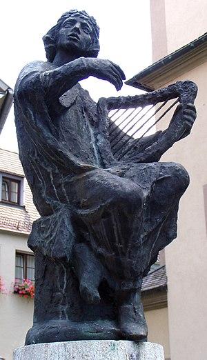 Minnesang - Otto von Botenlauben Fountain