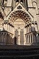 Bourges (18) Cathédrale Saint-Étienne - Extérieur - Portail Saint-Ursin - 03.jpg