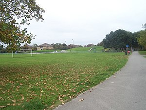 English: Bournemouth : Ensbury Park Ensbury Pa...