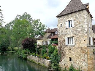 Céou river in France