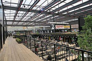 Boxpark - Interior view of Boxpark Croydon