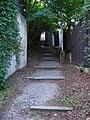 Braník, chodník Na Křížku, horní schodiště.jpg