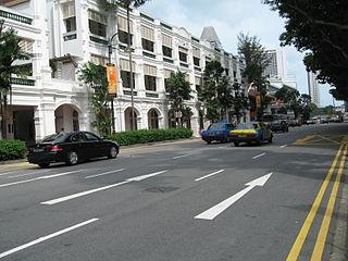 Bras Basah Road Place in Singapore