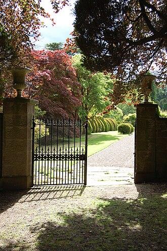 Brechin Castle - Image: Brechin Castle Garden Gate
