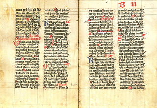 Breviary type of religious book