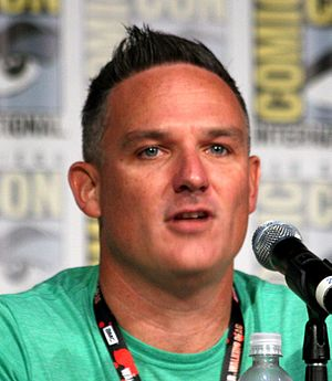 Brian T. Delaney - Delaney at San Diego Comic-Con 2016