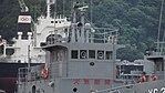 Bridge of JMSDF YG-204 right front view at Maizuru Naval Base July 29, 2017.jpg