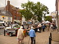 Bridport, Saturday market in South Street - geograph.org.uk - 1364367.jpg