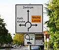 Brinkum bei Bremen, ein Ortsteil von Stuhr, Kreisverkehr an der Syker Strasse PD 2012 01.JPG