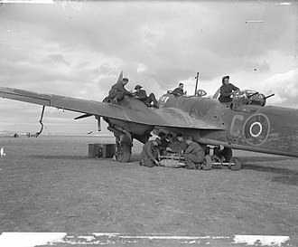 No. 13 Squadron RAF - Image: Bristol Blenheim Algeria Royal Air Force Operations in the Middle East and North Africa, 1939 1943. CNA108