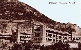 Royal Naval Hospital Gibraltar Hospital in Europa Road, Gibraltar