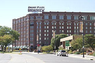 Downtown Wichita - Image: Broadview Hotel