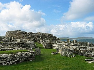Scotland during the Roman Empire - The Broch of Gurness in Orkney