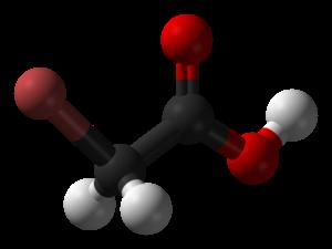 Bromoacetic acid - Image: Bromoacetic acid 3D balls