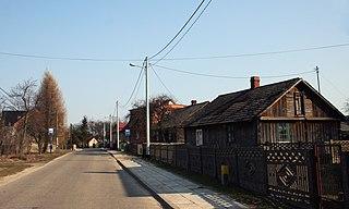 Brudzowice Village in Silesian, Poland