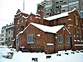 Bucuresti, Romania. BISERICA ANGLICANA in zi de iarna. Martie 2018. (B-II-m-A-19833).jpg