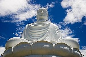 Religion in Vietnam - The great Buddha statue in Nha Trang, Vietnam.