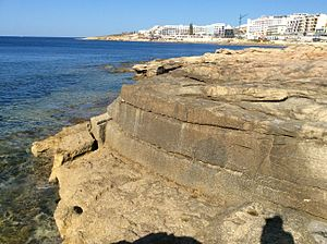 Buġibba Battery - Image: Bugibba Battery 03