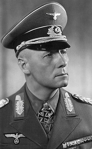 Rommel myth - Field Marshal Erwin Rommel in 1942