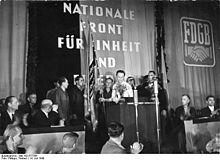 wiki frente nacional alemania democratica