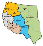 Bureau of Reclamation regions