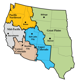 List of mountain ranges of the Lower Colorado River Valley ...