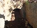 Burial niche at Khirbet Malkah-he.jpg