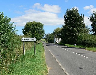 John OGaunt, Leicestershire populated place in Leicestershire, United Kingdom