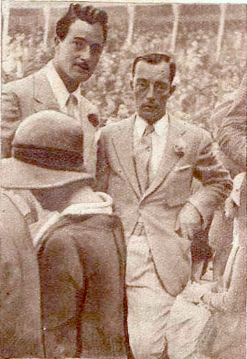 Buster Keaton and a Spanish journalist