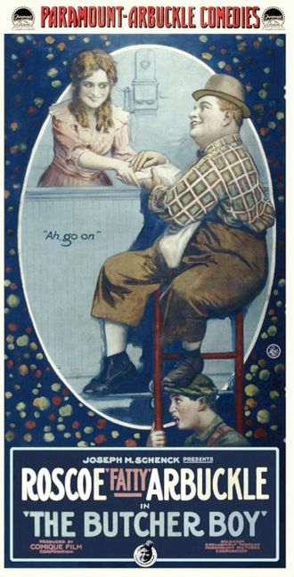 The Butcher Boy (1917 film) - Poster