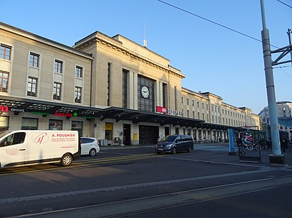 How to get to Gare Cornavin with public transit - About the place
