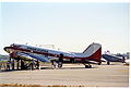 Bygone Aviation DC-3; N5106X@LGB;28.07.1995 (4929731988).jpg