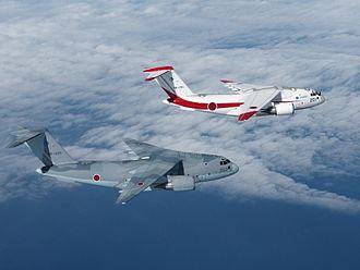 "Kawasaki C-2 - 1st production model ""68-1203"" and 1st prototype ""08-1201"" (2016)"