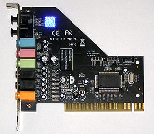 C-Media - A C-Media sound card PCI 7.1 OEM (M-CMI8768-8CH)