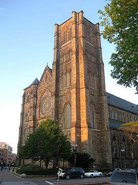 Image illustrative de l'article Cathédrale de la Sainte-Croix de Boston