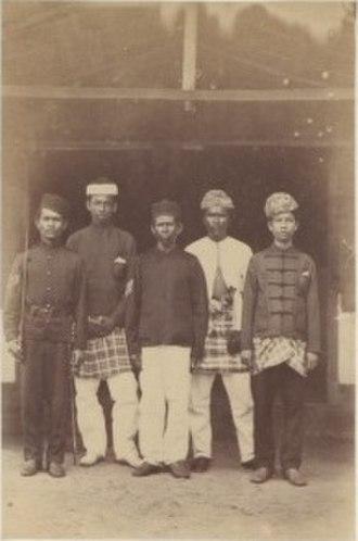 Klang War - Tengku Dhiauddin's Secretariat.