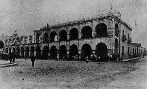 San Miguel de Tucumán - Demolition of the former Cabildo, 1908.