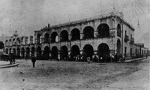 San Miguel de Tucumán - Demolition of the former Cabildo, 1908.