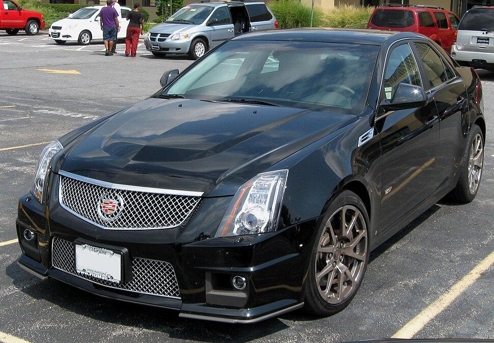 Cadillac CTS-V 1 -- 08-25-2009