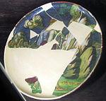 Cafaggiolo, piatto, 1500-1550 ca..JPG
